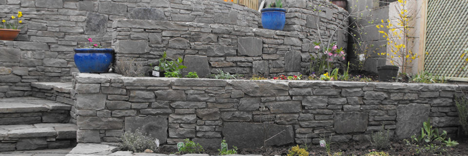 Retaining wall built to not be forbidding