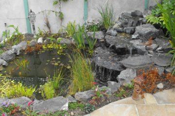 Water Feature in Blackrock