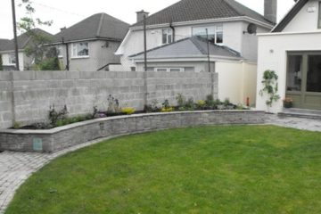 Cedar and sandstone in Celbridge
