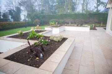 Kilcloon - Egyptian limestone garden