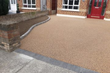 Resin bound gravel driveway in Celbridge